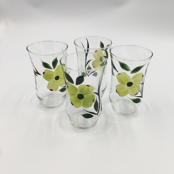 Other - Hand painted water Glasses